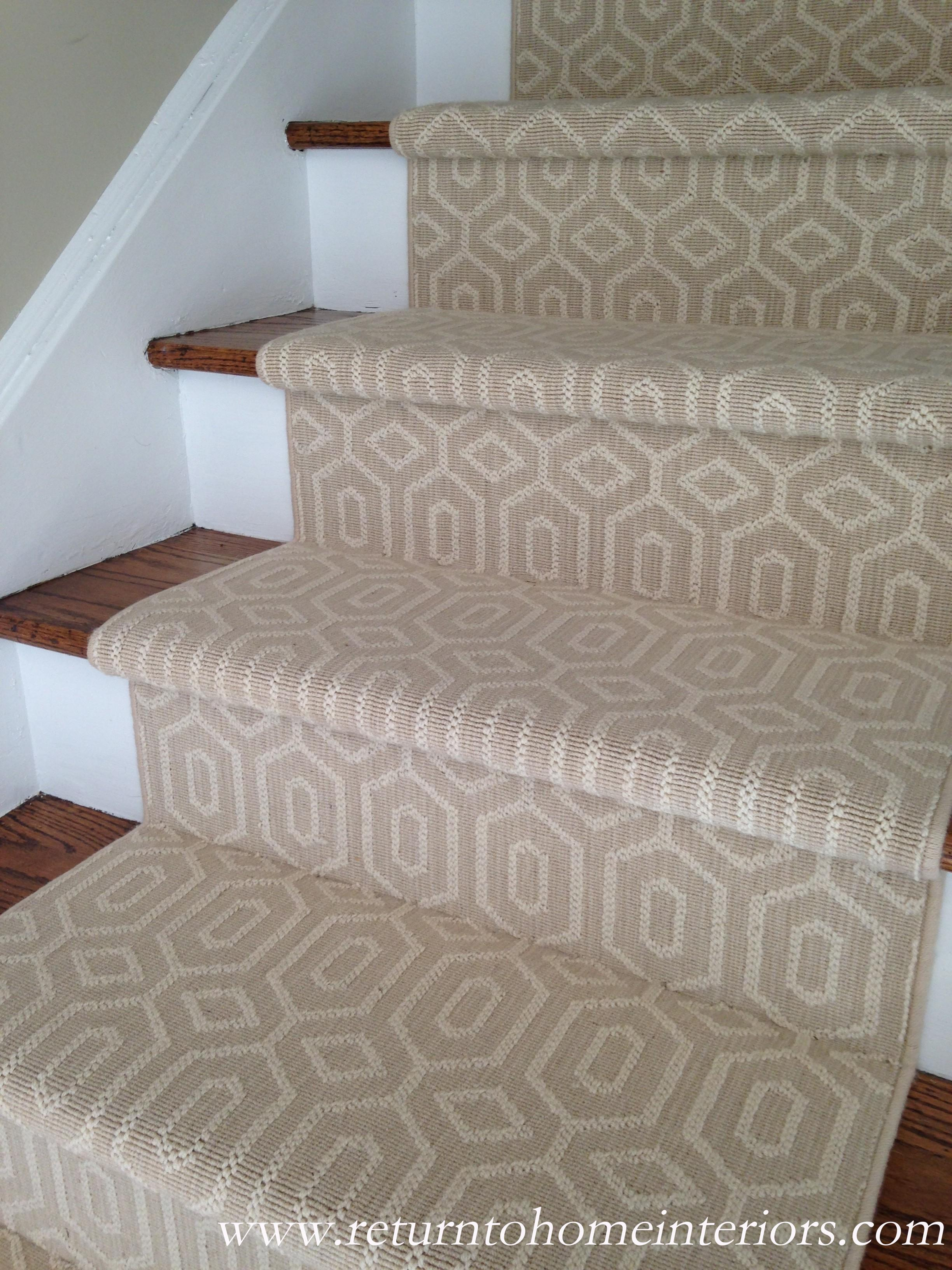 Carpeted stair runners carpet review for Woven carpet for stairs
